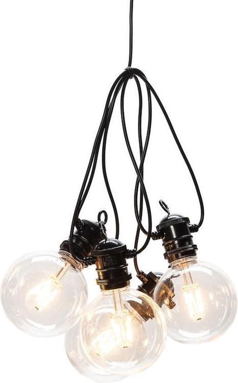 Konstsmide LED lichtsnoer retro 10 lampen - 4,5 meter