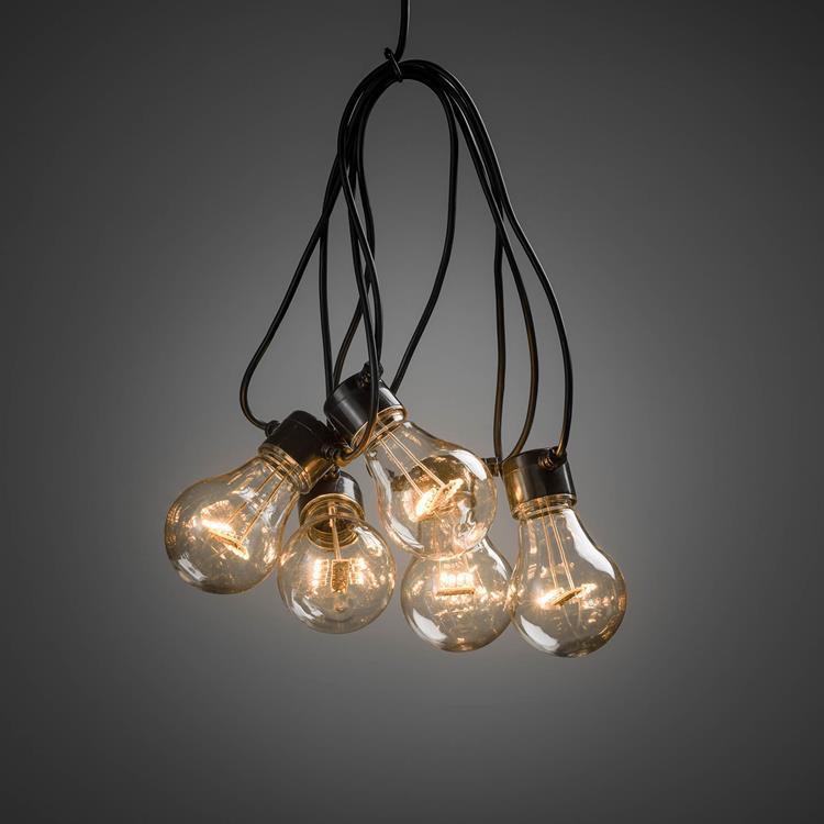 Konstsmide LED boom-/ partysnoer 5 lampen - 2 meter