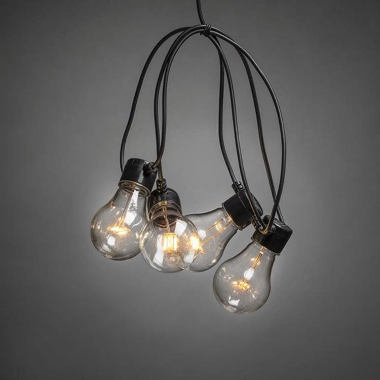 Konstsmide LED boom-/ partysnoer 10 lampen - 4,5 meter
