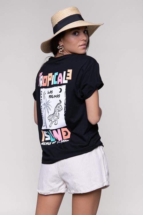 Colourful Rebel T-Shirt Tropical Island Boxy