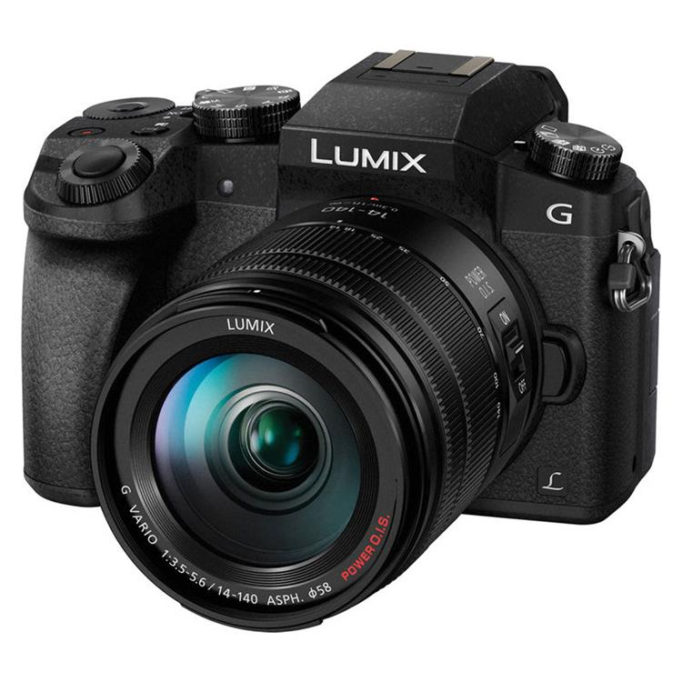 Panasonic LUMIX DMC-G7 + 14-140mm Zwart