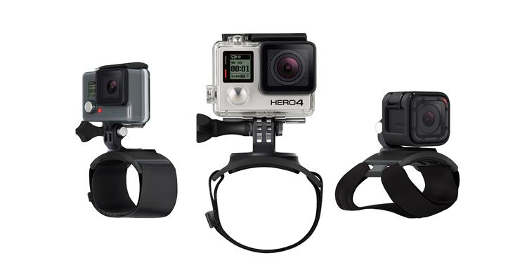 Gopro The Strap (Hand + Pols + Arm + Been mount)