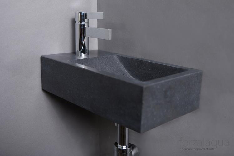 Fontein Natuursteen Toilet : Fontein pluto 45 x 17 cm hardsteen multipack