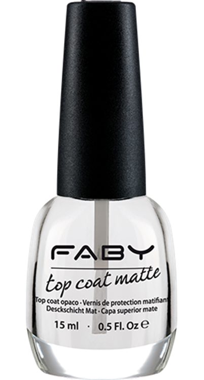 Faby nagellak - Top Coat Matte