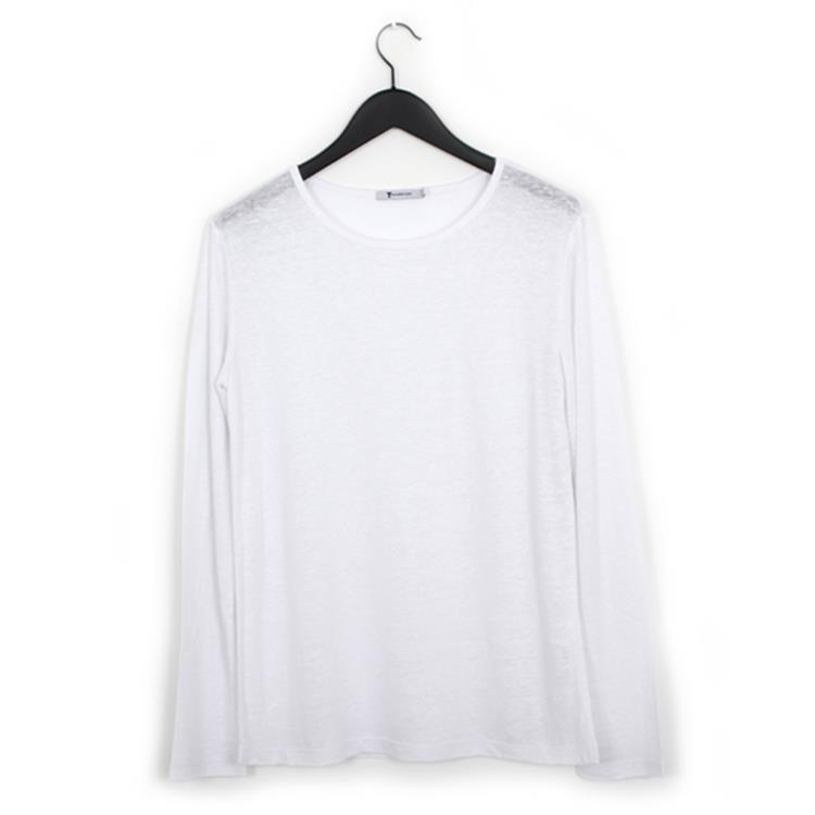T by Alexander Wang linnen t-shirt