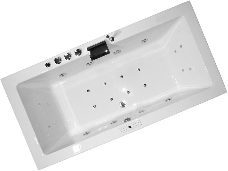 All-in Whirlpool Unity 160 cm by The Bathing Factory