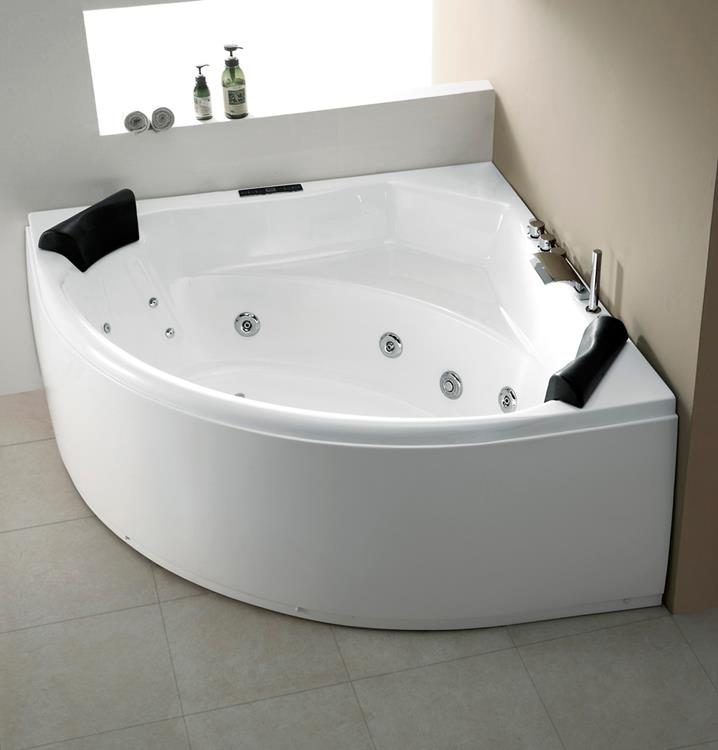 All-in Whirlpool Titan 155 cm by The Bathing Factory