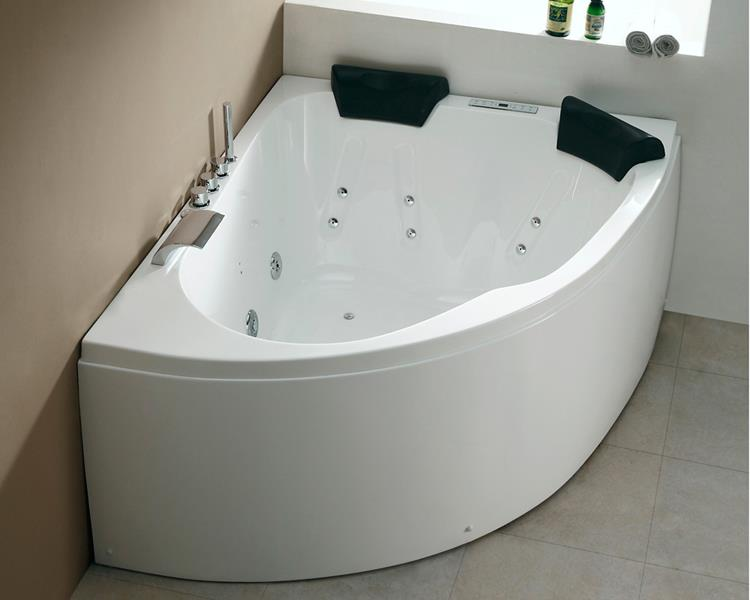 All-in Whirlpool Royal 160 cm Rechts by The Bathing Factory