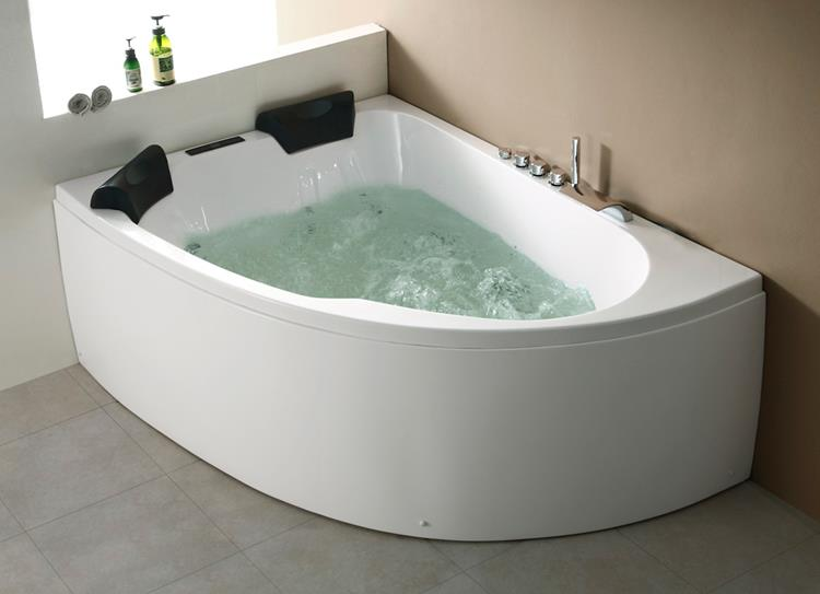 All-in Whirlpool Royal XL 180 cm Links by The Bathing Factory