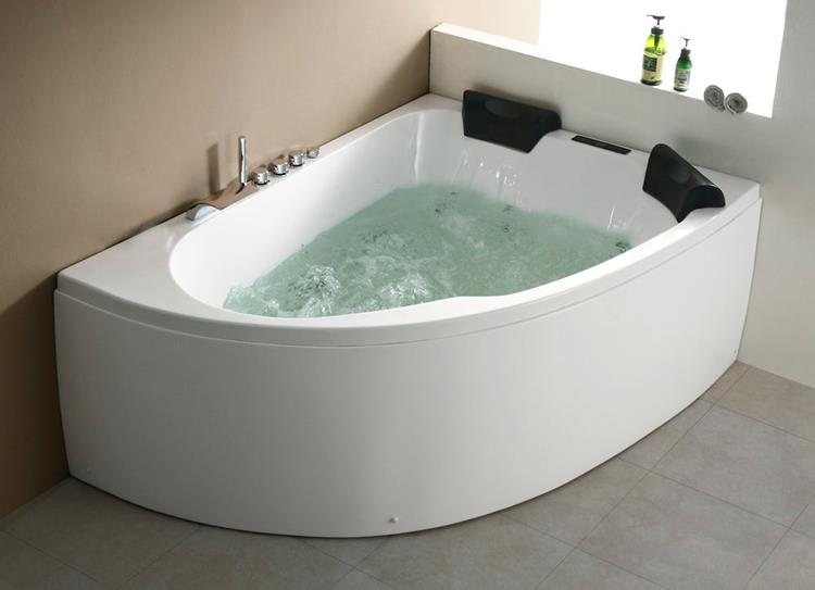 All-in Whirlpool Royal XL 180 cm Rechts by The Bathing Factory