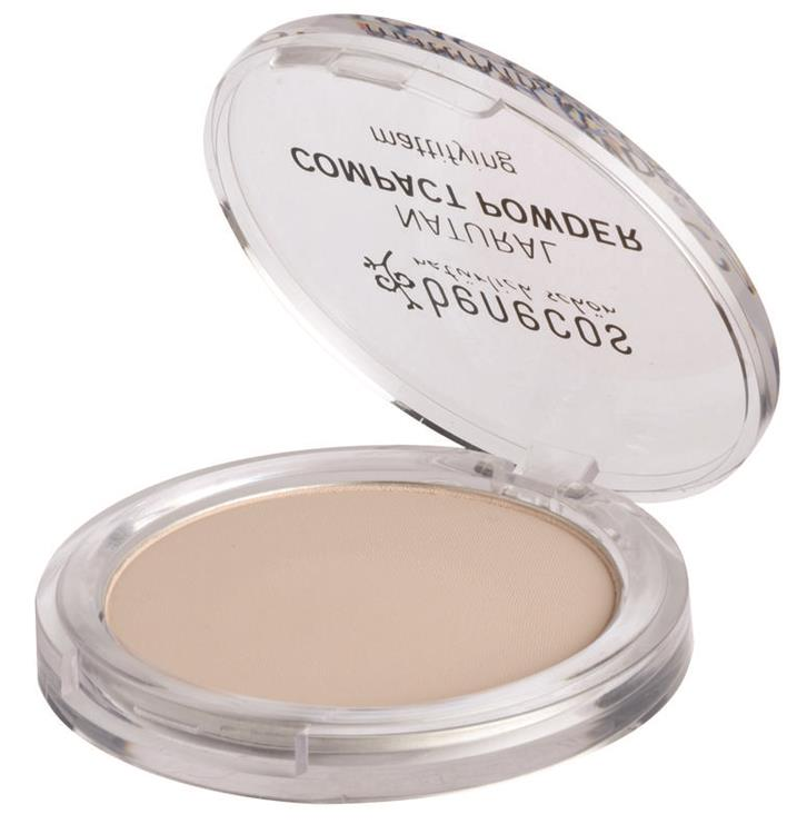 Compact powder porcellaine