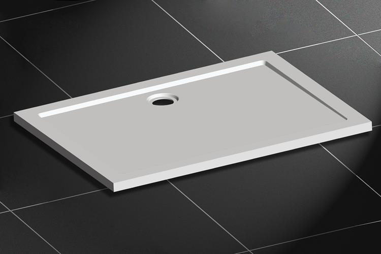 lage douchebak rechthoek smc 120 x 90 cm. Black Bedroom Furniture Sets. Home Design Ideas