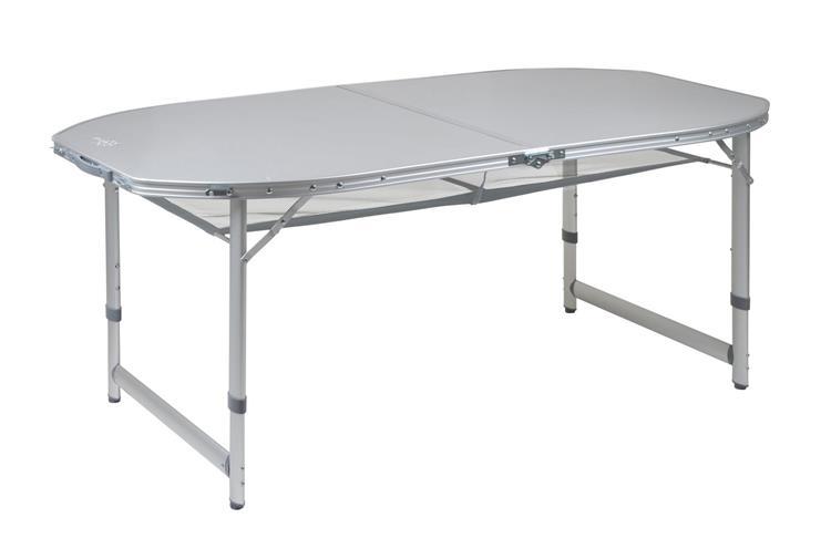 Kampeertafel Met Net.Bo Camp Premium Campingtafel Ovaal 150x80 Cm