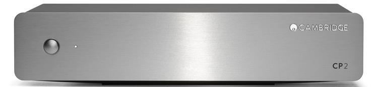 Cambridge CP2 Zilver voorversterker MM+MC phono