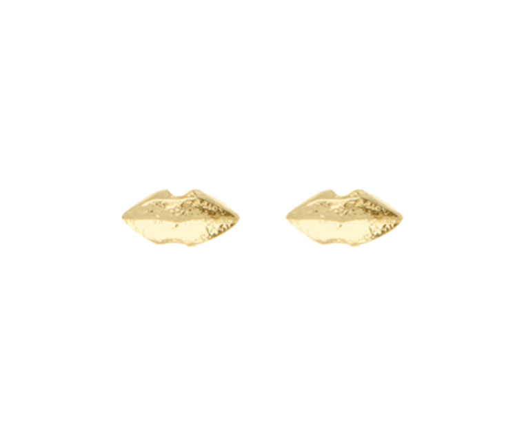 Wouters & Hendrix lips post earrings