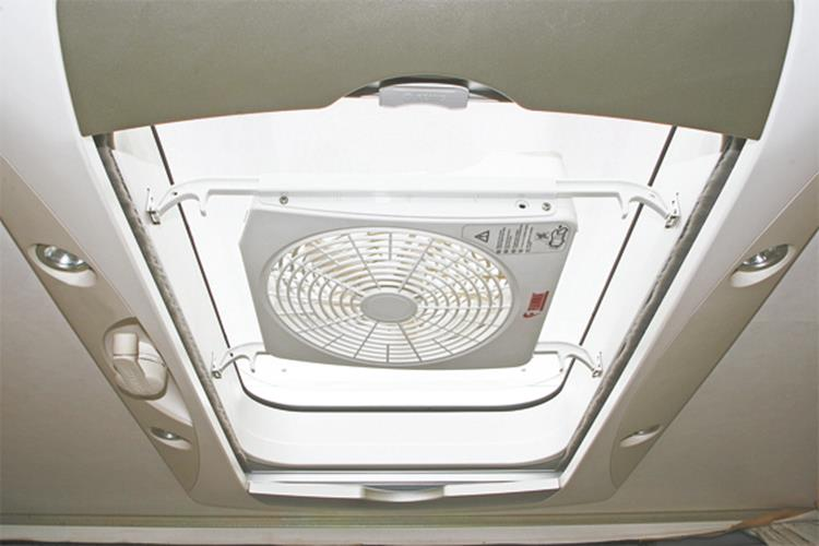 Fiamma ventilator Turbo Kit voor dakluik