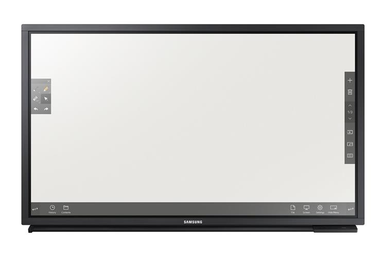 Samsung DM82E-BR, Touch display