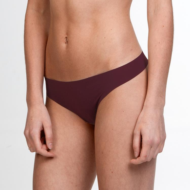 Invisible Thong Burgundy