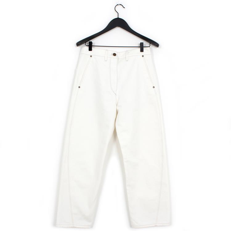Lemaire twisted pants off-white
