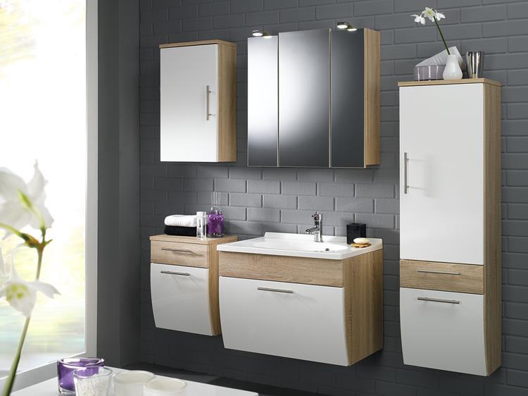 Badmeubel met spiegelkast badkamerwarenhuis
