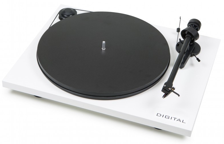 Pro-Ject Essential II Digital (wit) draaitafel