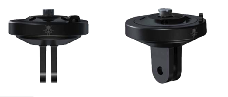 360Fly Action Cam Adaptor