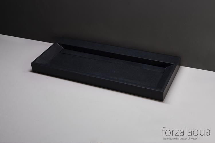 Forzalaqua wastafel bellezza 120 x 51 cm graniet gezoet