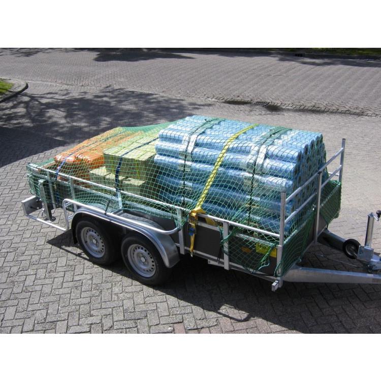 TOP PROTECT aanhangwagennet 200 x 150 cm POLYPROPYLEEN
