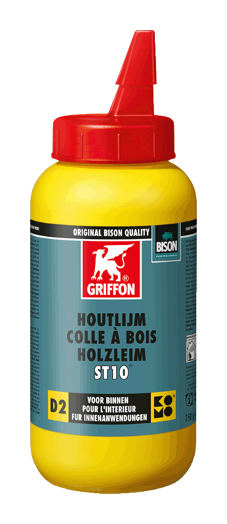 GRIFFON PROF houtlijm ST10 D2 professional 750 gr.