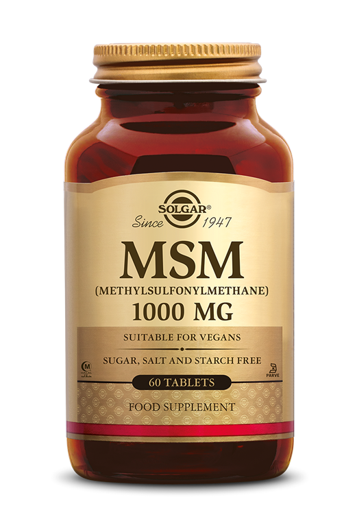 MSM 1000 mg  (60 tabletten)