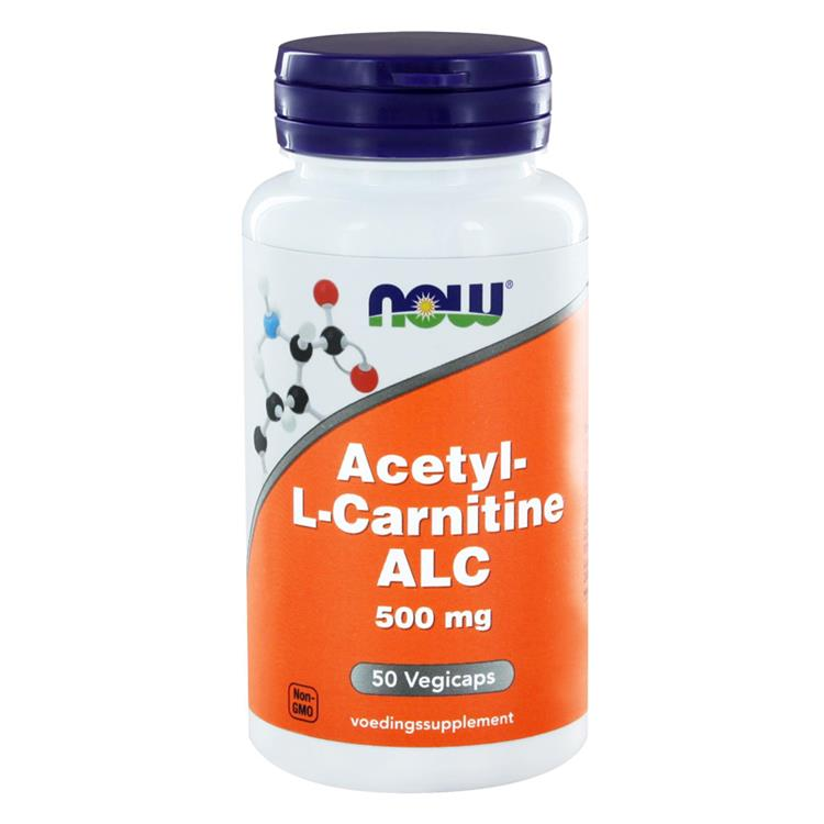 Acetyl L-Carnitine 500 mg (50 capsules)