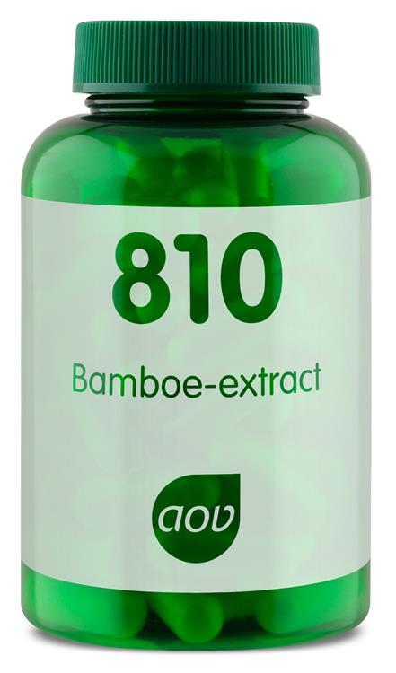810 Bamboe-extract (90 capsules)
