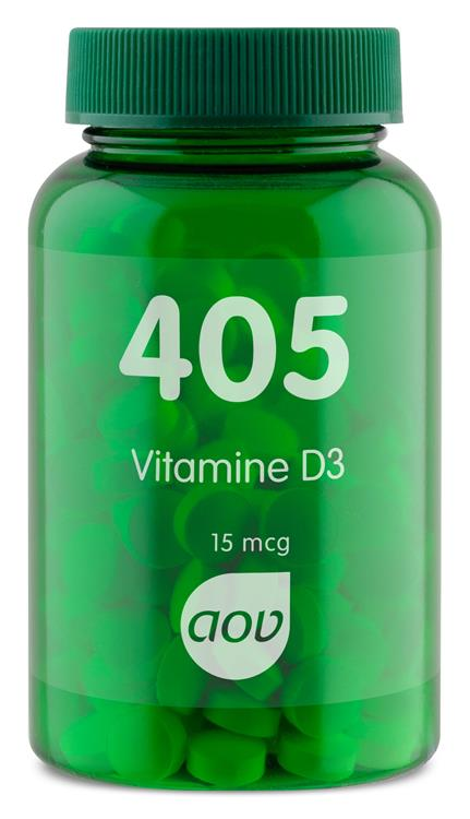 405 Vitamine D3 15 mcg (180 tabletten)