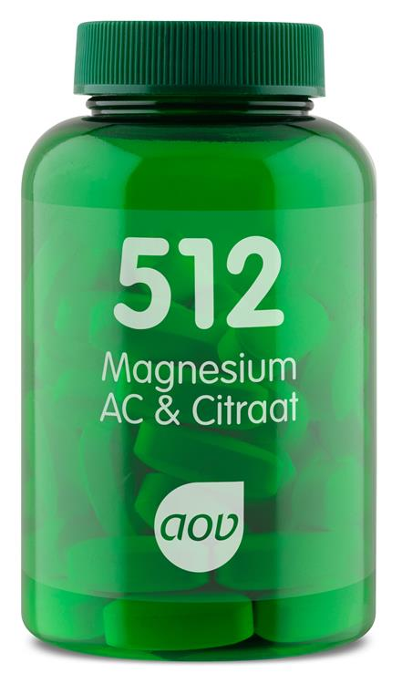 512 Magnesium AC & Citraat 150 mg (60 tabletten)