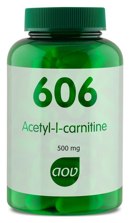 606 Acetyl-l-carnitine 500 mg (90 capsules)