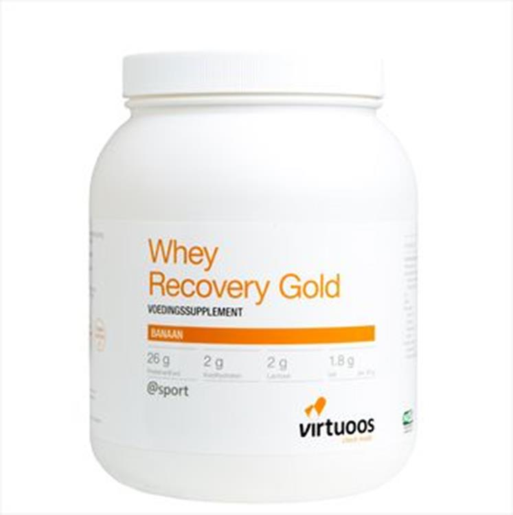 Whey Recovery Gold Banaan (1000 gram poeder)