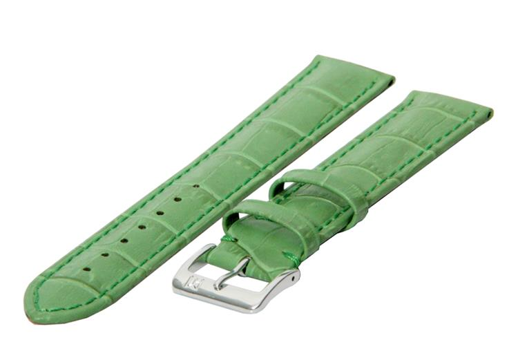Horlogeband 24mm mint groen XL