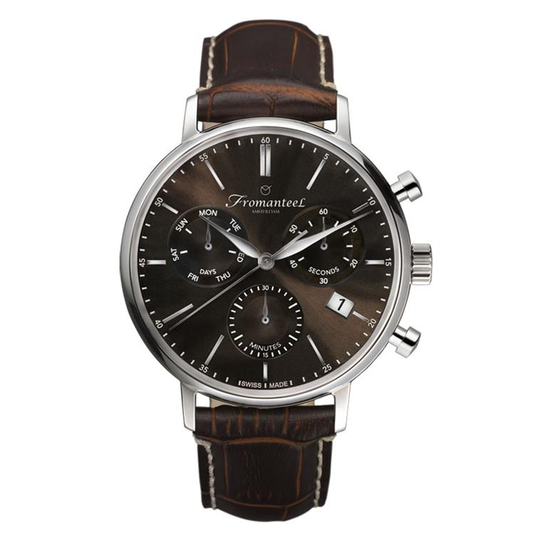 Fromanteel horloge Generations Chrono Brown