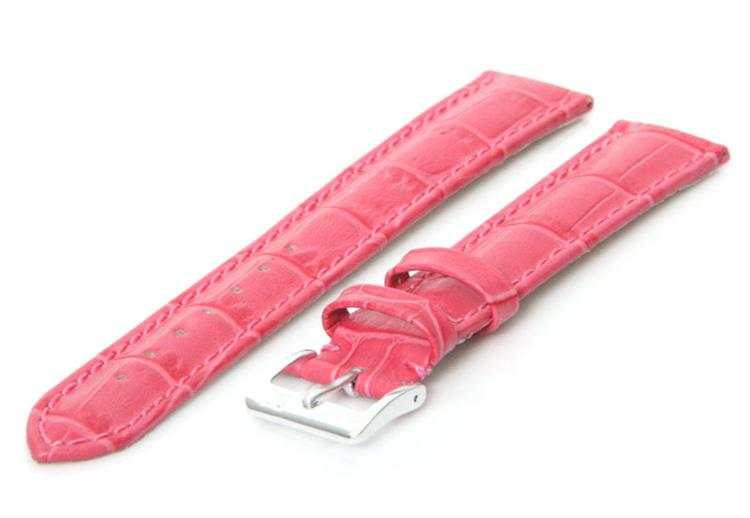 Horlogeband 20mm Roze XL