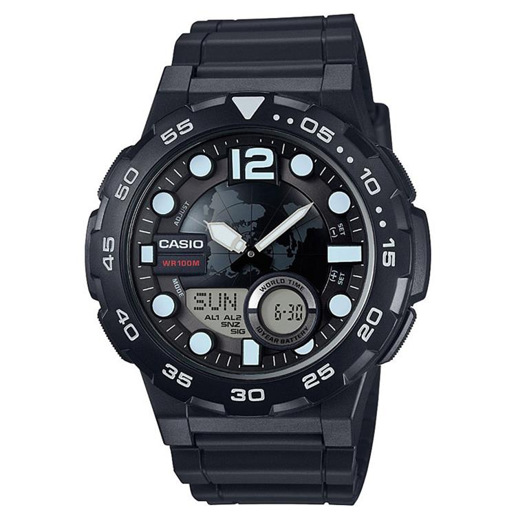Casio Collection AEQ-100W-1AVEF horloge