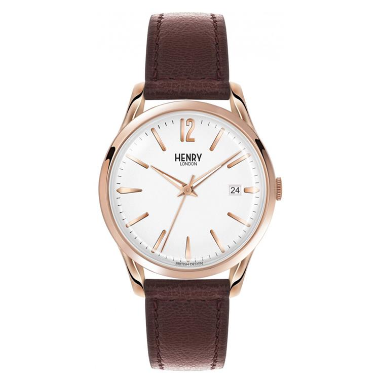 Henry London horloge 39mm Richmond S-0028