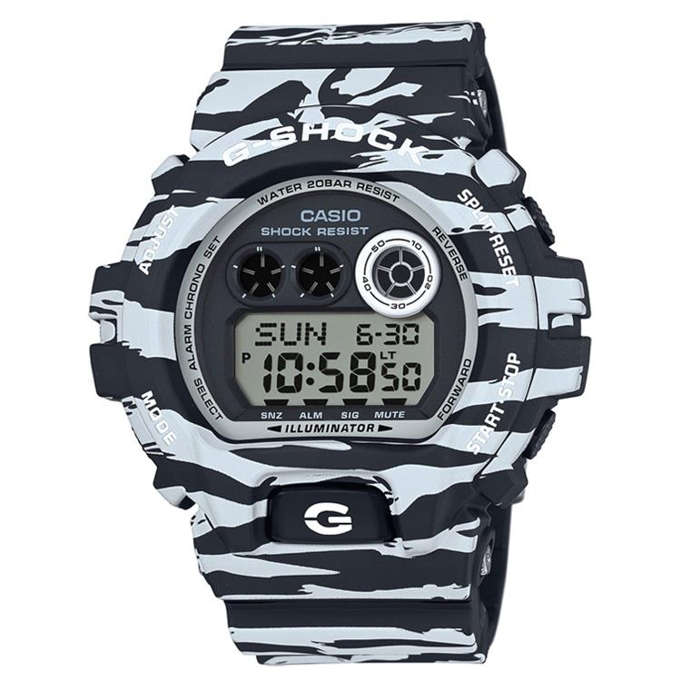 Casio G-Shock GD-X6900BW-1ER Zebra