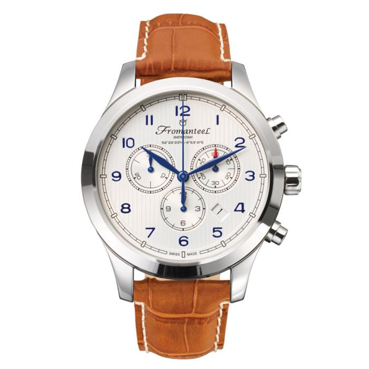 Fromanteel horloge Amsterdam Chrono Nautique White