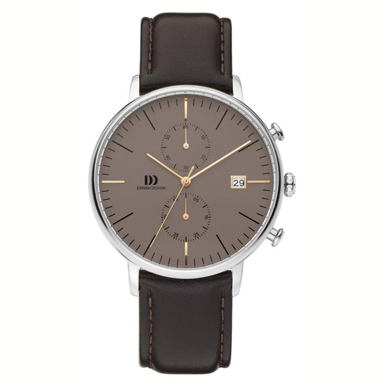 Danish Design horloge IQ48Q975 Stainless Steel