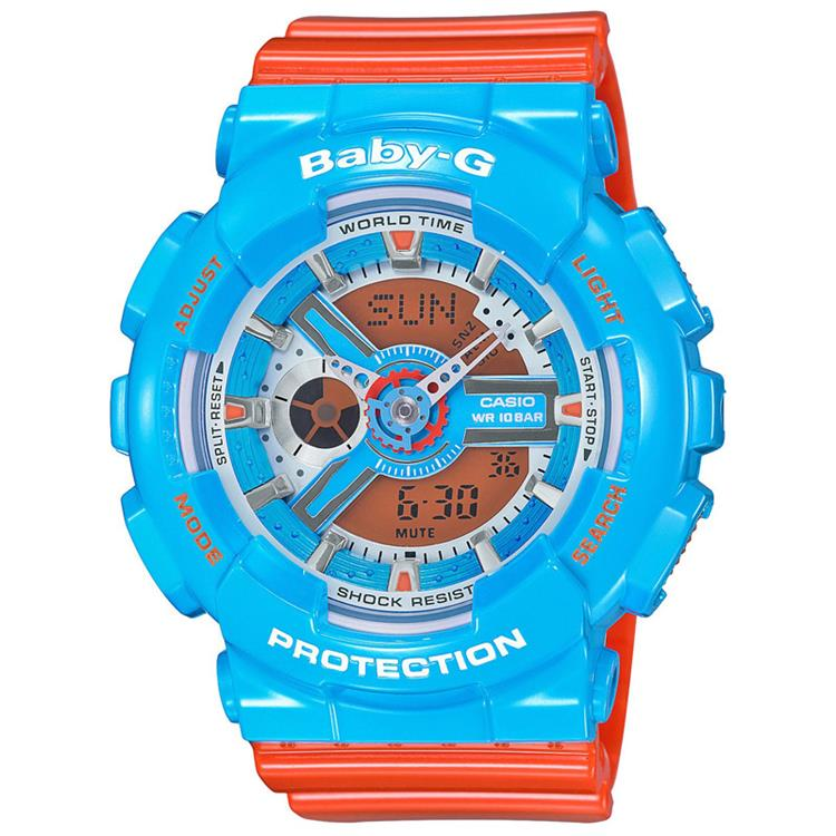 Casio Baby-G BA-110NC-2AER Pair 90's Limited