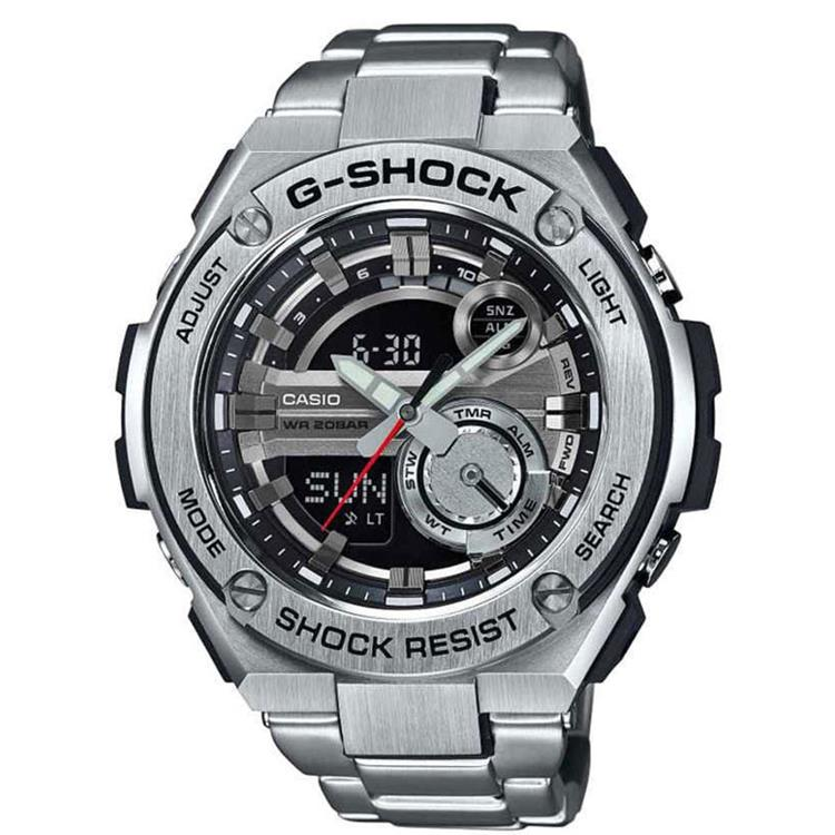 Casio G-Shock GST-210D-1AER G-Steel 2nd Generation