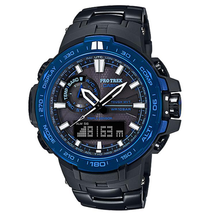 Casio Pro Trek AS PRW-6000SYT-1ER Multi-Band 6