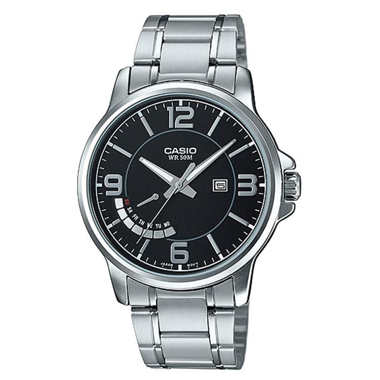 Casio Collection MTP-E124D-1AVEF horloge