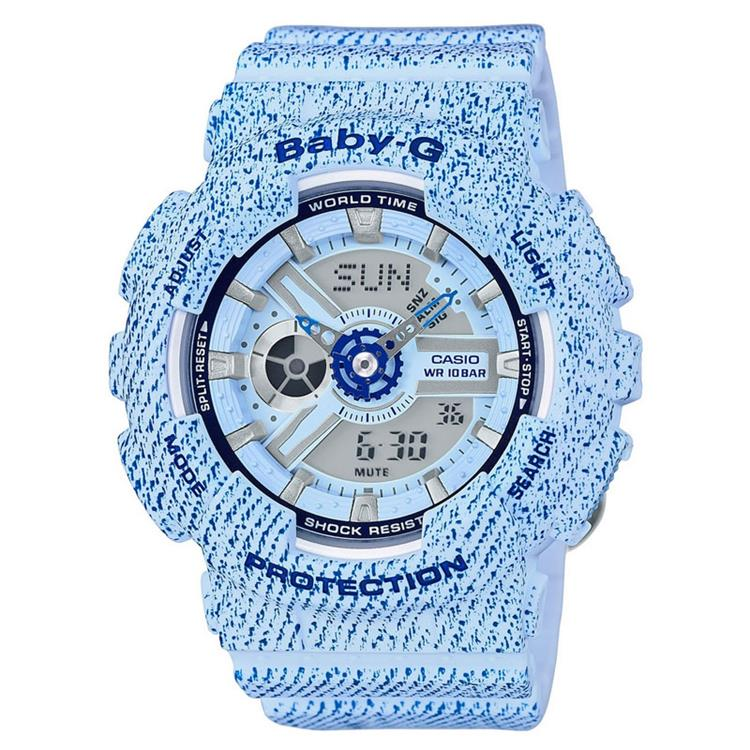 Casio Baby-G BA-110DC-2A3ER Denim Limited
