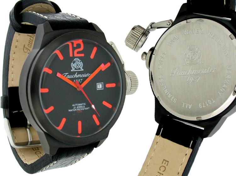 Tauchmeister 1937 horloge U BOOT XL automatic T179